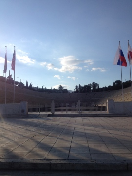 The Original Olympic Stadium in Athens